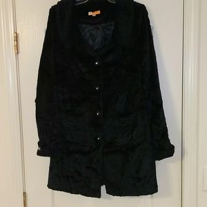 TULLE Black jacket from Anthropology